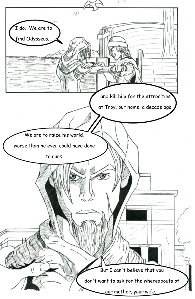 Chapter 1:  The False and Cruel One Page 4