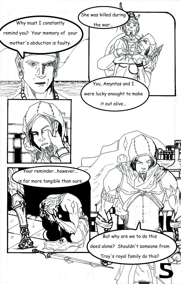 Chapter 1: The False and Cruel One Page 5