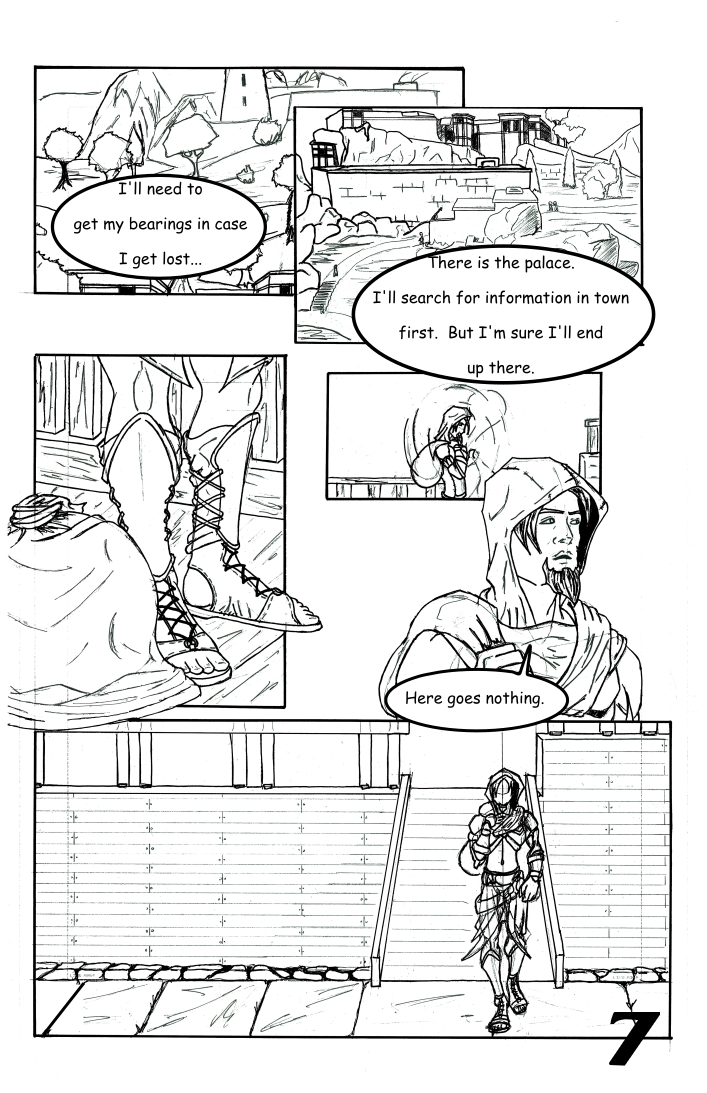 Chapter 1: The False and Cruel One Page 7