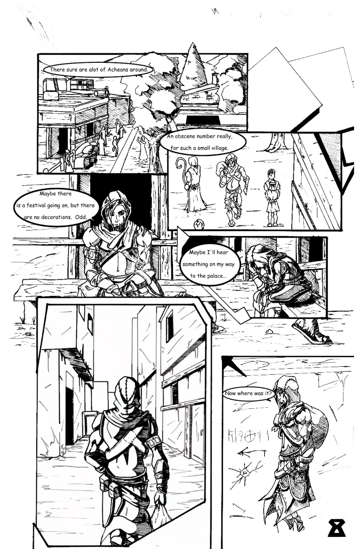Chapter 1: The False and Cruel One Page 8