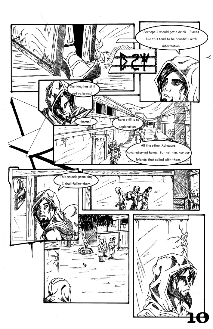 Chapter 1: The False and Cruel One Page 10