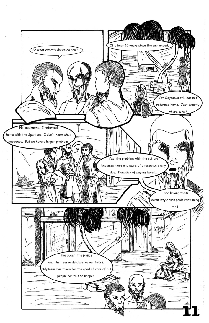 Chapter 1: The False and Cruel One Page 11