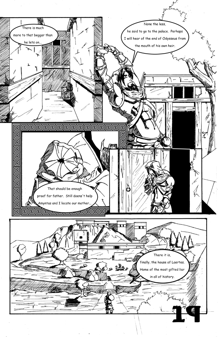 Chapter 1: The False and Cruel One Page 19