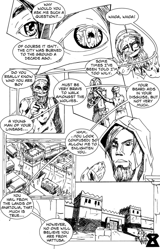 Chapter 2: Slaughter of the Suitors Page 8